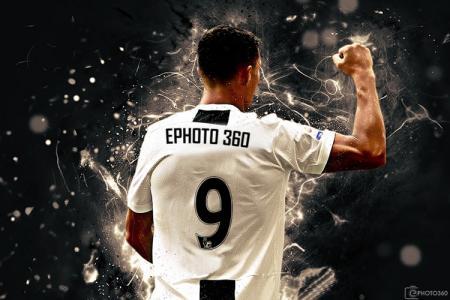 Viết tên và số lên áo đấu Juventus